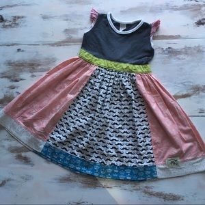 Other - Kids Fly Too Mustache dress by KPea
